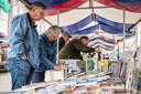 In het centrum van het historische Tuindorp 't  Lansink wordt de jaarlijkse boekenmarkt gehouden.