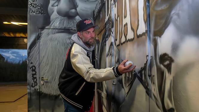 Remco van den Beemd, de man achter graffitihal: 'Het  liefst blijf ik in The Loods. De sfeer en vibe zijn goed'