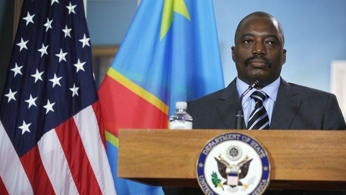 Kabila à Washington le 4 août dernier.