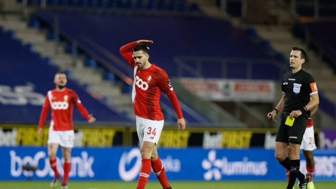 Coup dur pour le Standard, privé de son capitaine pour le Clasico contre Anderlecht