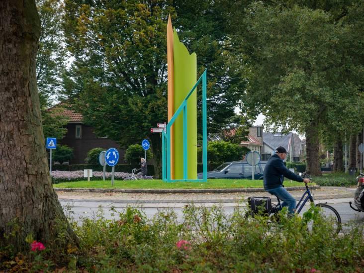Op rotondes over de hele wereld tref je kunst: in Huissen vind je Groei in Kleur