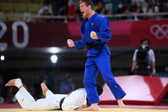 Matthias Casse offre à la Belgique sa deuxième médaille olympique.