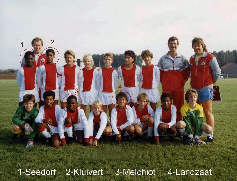 Ajax werd winnaar van het tornooi in 1987. Seedorf, Kluivert, Melchiot en Landzaat haalden er een erg mooie profcarrière uit.
