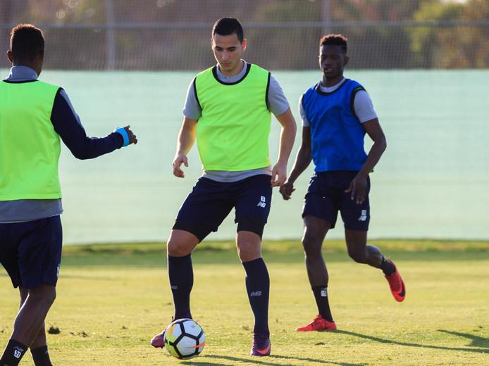 Anwar El Ghazi traint met Lille ook in San Pedro Del Pinetar