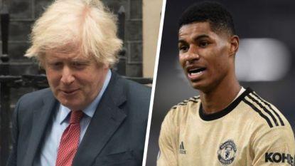 Premier League-ster Marcus Rashford dwingt Britse premier Johnson tot U-bocht na straffe campagne: 200.000 arme kinderen krijgen toch gratis maaltijden