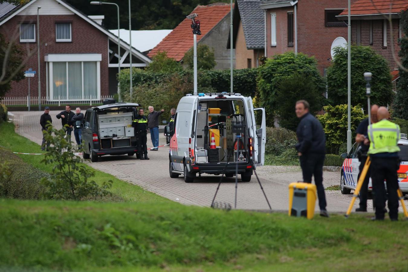 Onderzoek op de locatie waar een verdachte door de politie is doodgeschoten