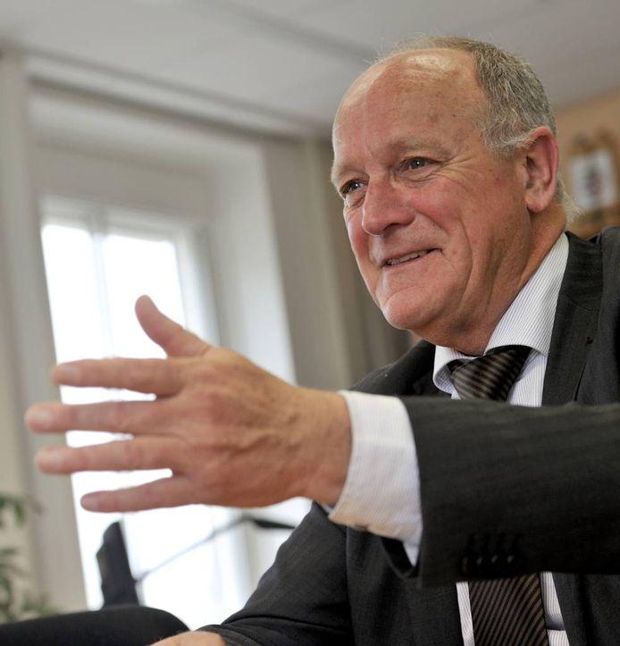 Waarnemend burgemeester Dick de Cloe