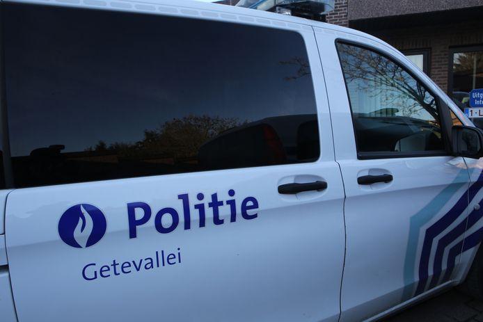 De politie kwam ter plaatse voor de nodige vaststellingen