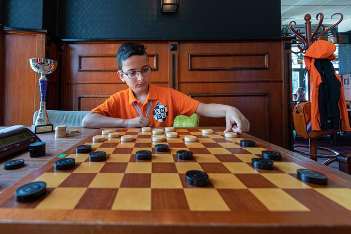 Matheo Boxum is nog maar tien, maar hoort in zijn leeftijdscategorie al tot de top van de wereld.
