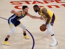 Curry met Golden State Warriors te sterk voor LA Lakers, opnieuw glansrol voor Harden bij Nets