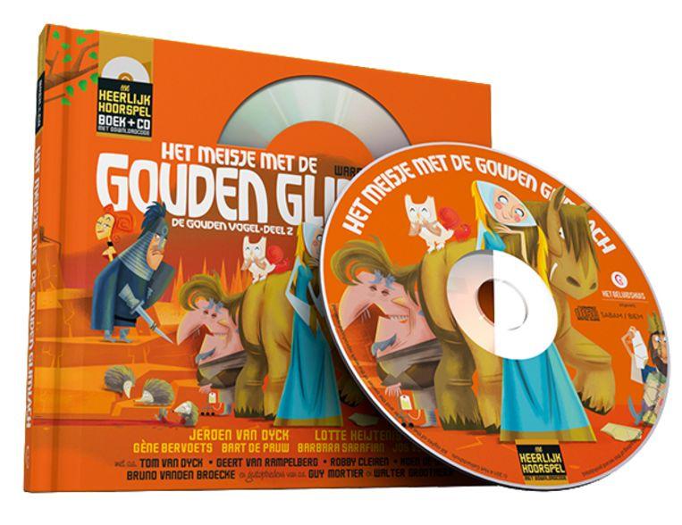 Hoorspel 4: het meisje met de gouden glimlach Beeld Humo