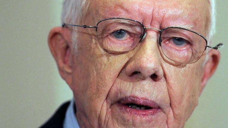 Jimmy Carter Beeld afp
