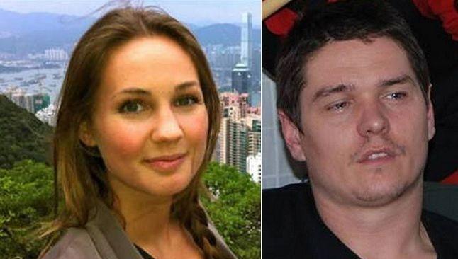 Anne Strande Jensen en haar moordenaar Dave Verbist