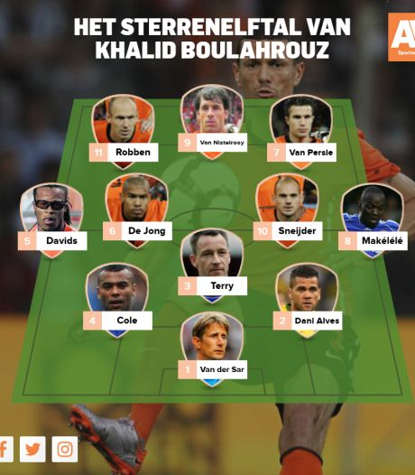 Dit is het sterrenelftal van... Khalid Boulahrouz