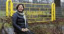 Servia van de Laak wil geen windmolens in 'haar' Wilhelminapark.