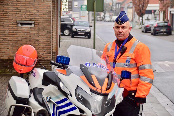 Commissaris Stefaan Vannieuwenhuyse van de politiezone Grensleie.