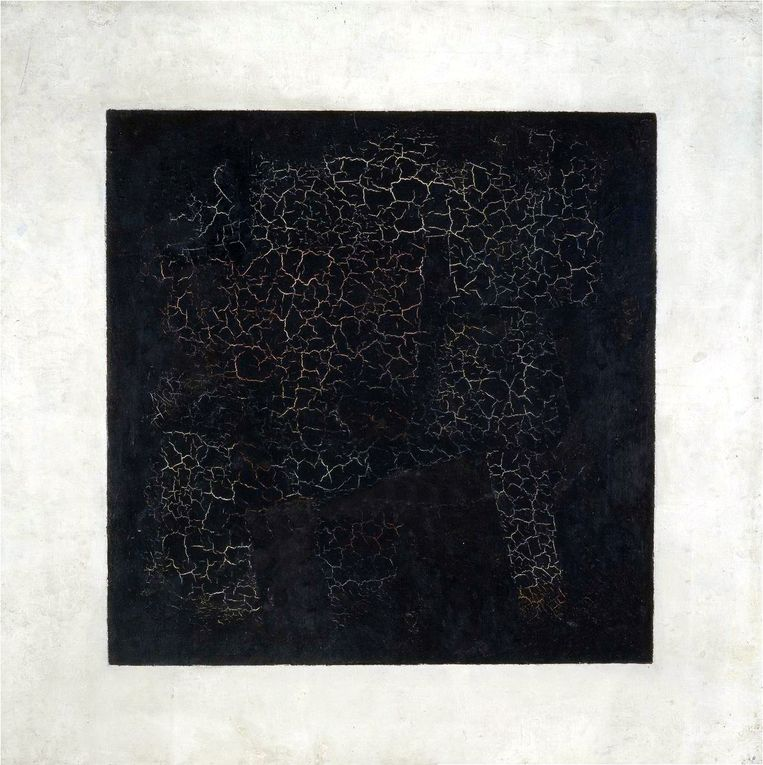 Kazimir Malevich, Zwart Vierkant, 1923. Beeld imageselect