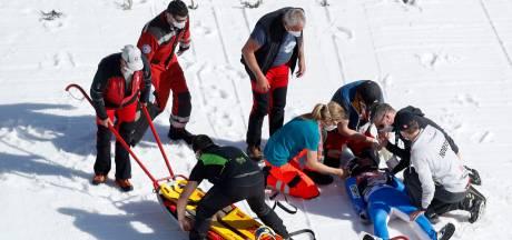 Noorse schansspringer verlaat ziekenhuis na afschuwelijke val