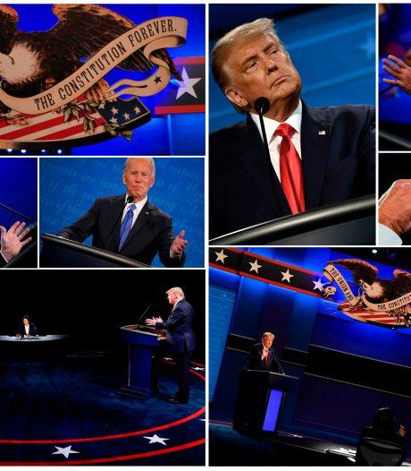 Laatste verkiezingsdebat Trump-Biden trekt 10 miljoen minder kijkers