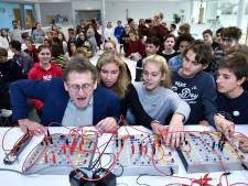 'Het nieuwe laboratorium van het JVOis vet gaaf'