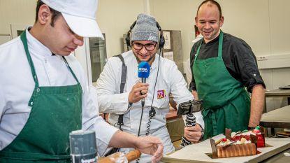 MNM-dj Brahim maakt live radio vanuit bakkerijafdeling MSKA