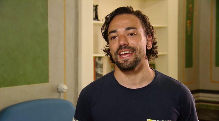 Pascal in 'B&B vol liefde' Beeld Screenshot RTL
