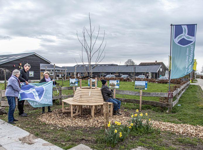 Na de buurtboom is er  u ook de buurtbank, een  ontmoetingsplek voor wijkbewoners en bezoekers van Zwolle Zuid