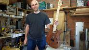 Dimitri bouwt gitaar in twee maanden tijd en veilt ze voor Kom Op Tegen Kanker