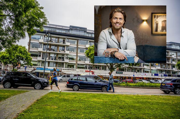 De bewoners van het monumentale appartementencomplex Plaszicht in Hillegersberg zitten niet op André Hazes te wachten: 'Hij heeft een ander leefritme dan wij'.