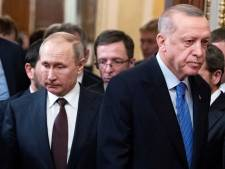 """Erdogan condamne les frappes russes en Syrie et accuse Moscou de ne pas vouloir la """"paix"""""""