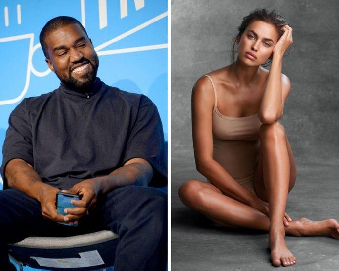 Kanye West et Irina Shayk en couple, c'est confirmé.