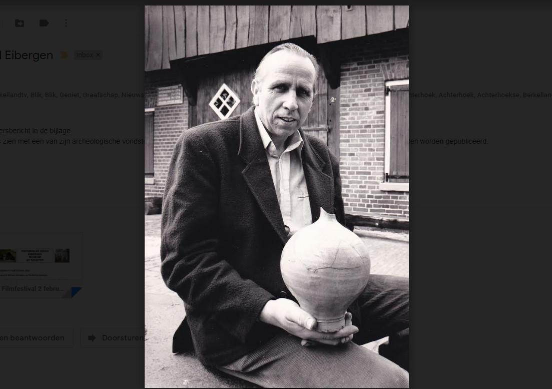 Herman Schepers was in 1978 initiator van het Eibergs historisch filmfestival. Hij overleed in 2019.