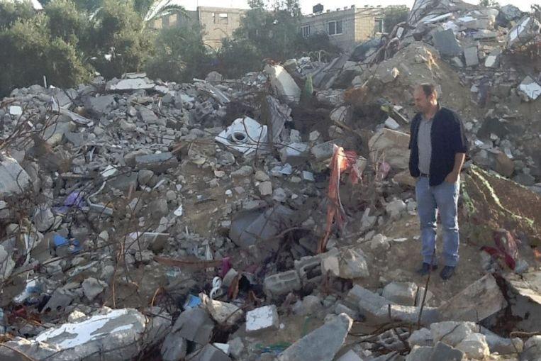 De Palestijnse Nederlander Ismail Ziada, die de zaak bij de Haagse rechtbank is begonnen. Beeld Nuhanovic Foundation