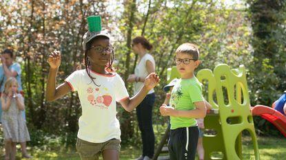 Oude en nieuwe buitenspeelactiviteiten in Huis van het Kind