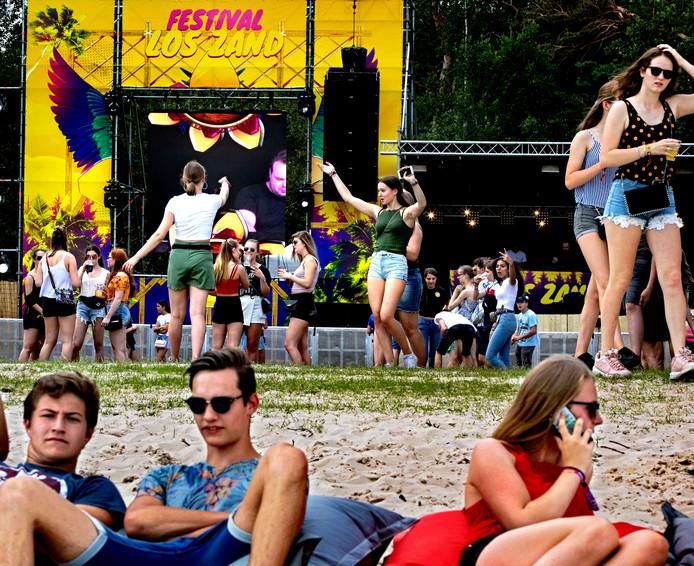 Los Zand festival op Berkendonk Helmond