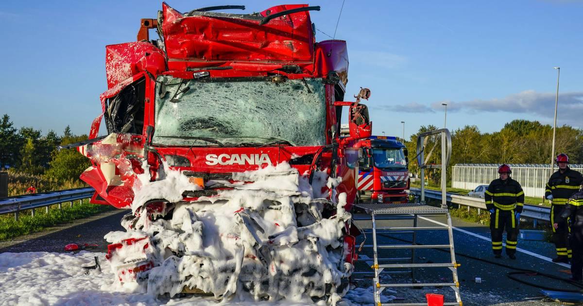 Opnieuw dode bij botsing tussen vrachtwagens, een overzicht van eerdere ongelukken.