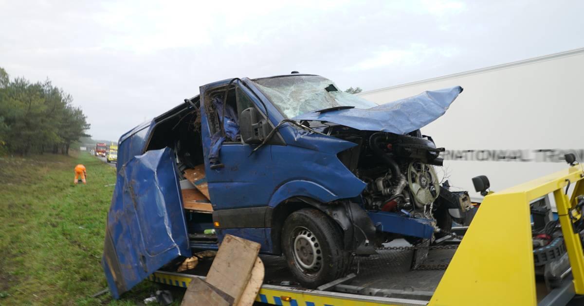Fikse files op A28 door meerdere ongevallen bij Ommen en Nunspeet.