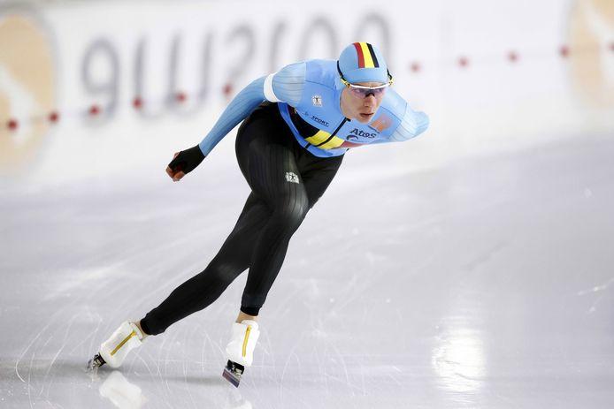 Vice-champion olympique et champion d'Europe, Bart Swings complète sa collection à Heerenveen.