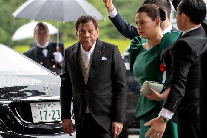 De Filipijnse president Rodrigo Duterte.