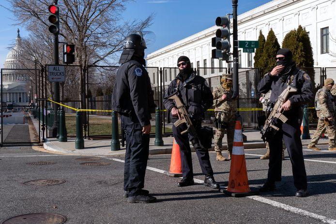Politieagenten in Washington DC.