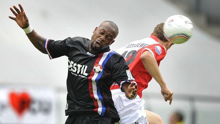 De KNVB heeft bewijs gevonden van matchfixing bij de eredivisiewedstrijd Utrecht - Willem II uit 2009. Hoofdrolspeler is voormalig Willem II-speler Ibrahim Kargbo. Beeld anp