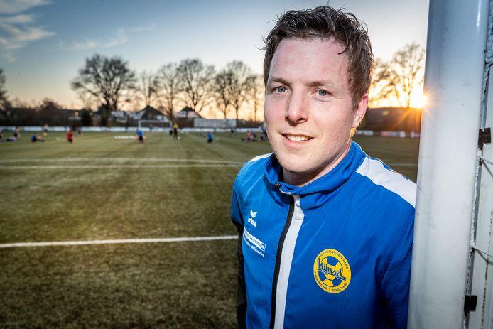 """Johan van der Pas: ,,Na twintig jaar in eerste elftallen te hebben gespeeld, is het mooi geweest."""""""