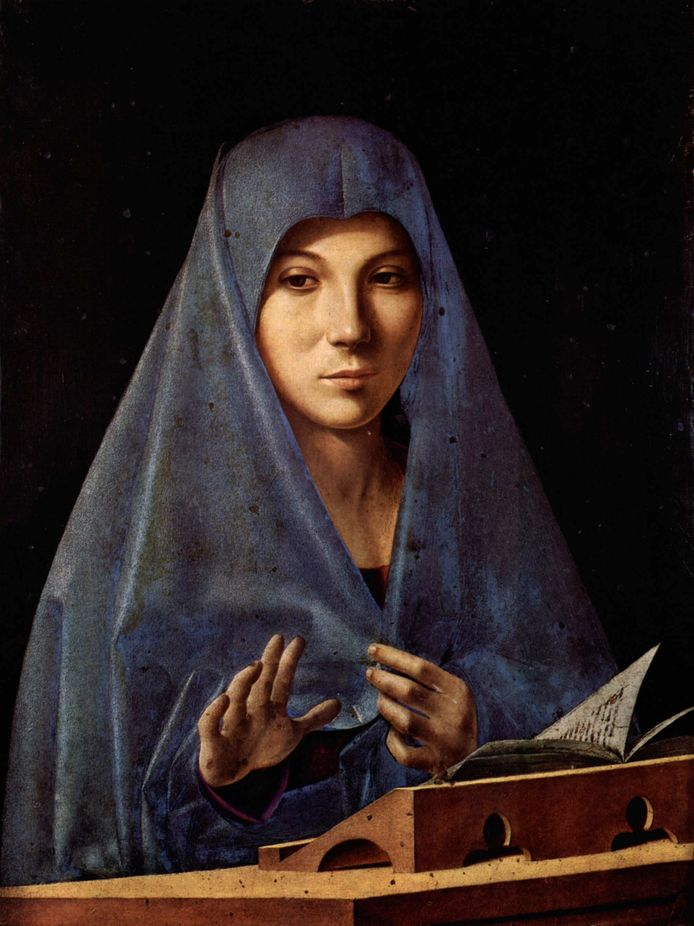 Antonello da Messina: de annunciatie, circa 1470.