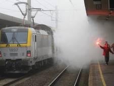 Chaos sur le rail, des piquets de la FGTB contestés