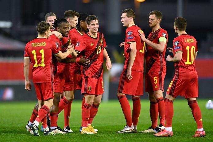 Les Diables Rouges ont assuré le show contre la Biélorussie.
