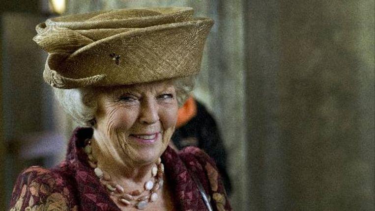 Koningin Beatrix viert vandaag haar 73e verjaardag. (ANP) Beeld
