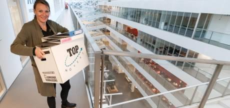 Na een jaar terug naar X-gebouw Windesheim in Zwolle: 'Het begint langzamerhand weer als thuis te voelen'