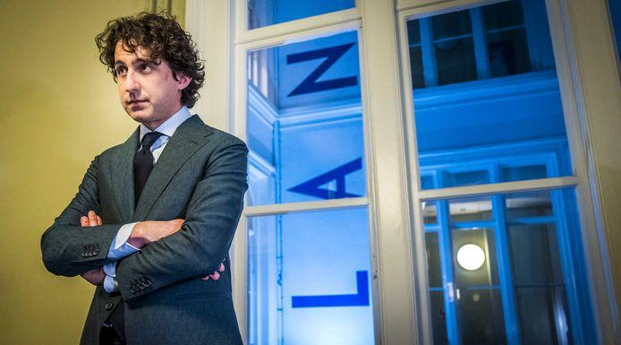 2021-03-17 23:30:53 DEN HAAG - GroenLinks-lijsttrekker Jesse Klaver reageert op de uitslagen voor de Tweede Kamerverkiezingen.  ANP LEX VAN LIESHOUT