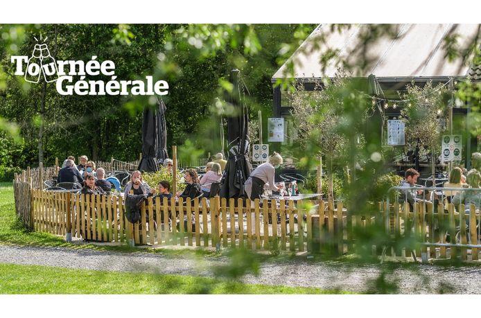 Het cafetaria van De Gavers in Harelbeke