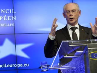Van Rompuy rekent op herlancering economie eind dit jaar